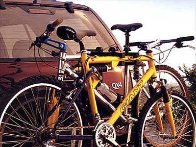 2001 Infiniti QX4 Hitch Mount Bike Rack 999R1-XG000
