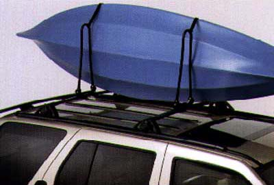 2003 Infiniti QX4 Kayak Carrier