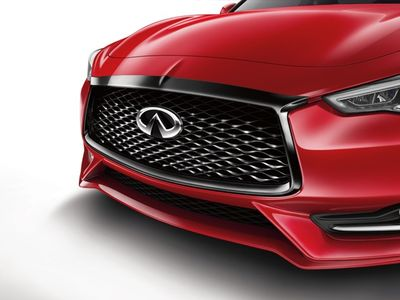 2018 Infiniti Q60 Coupe Black Sport Grille