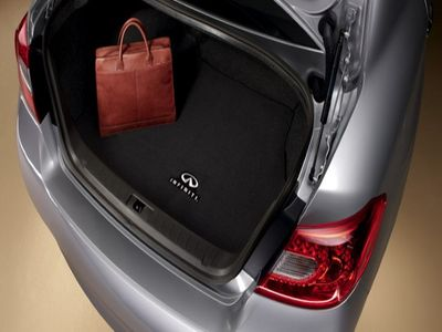 2017 Infiniti Q70 Carpeted Trunk Mat 999E3-QY000