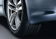 2011 Infiniti G37 Coupe Splash Guards - Front