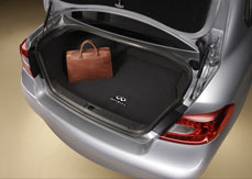 2013 Infiniti M35h Carpeted Trunk Mat 999E3-QX001