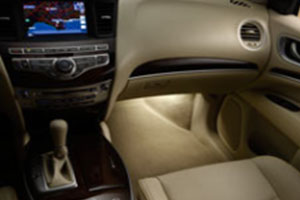 2014 Infiniti QX60 Interior Accent Lighting 999F3-YY000